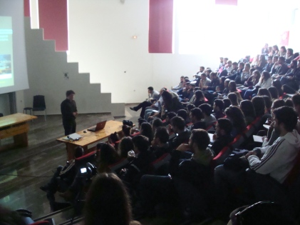 Από την παρουσίαση του ScesinGreece στο Πανεπιστήμιο Πατρών
